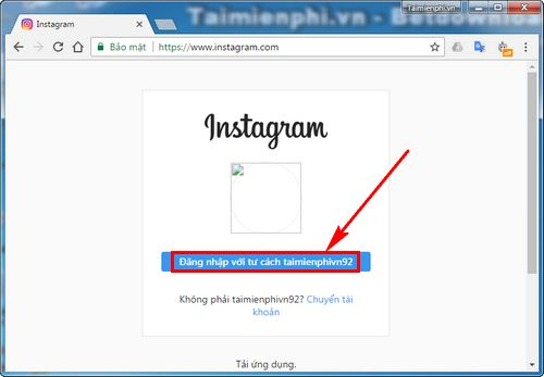 cach up anh len instagram tu may tinh