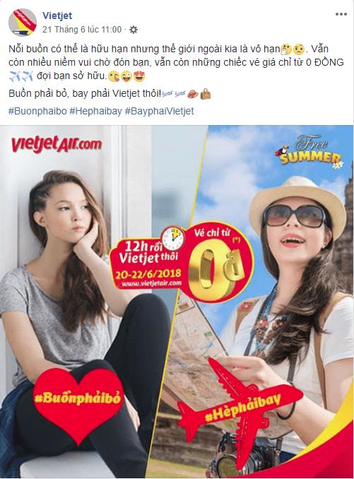 mẫu bài viết quảng cáo hay 07