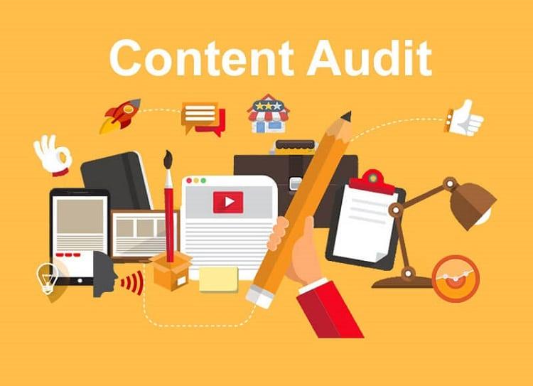 các bước audit content