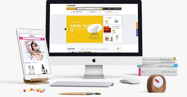 các công cụ marketing online - website bán hàng